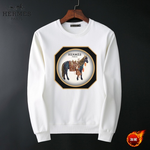 Hermes Hoodies Long Sleeved O-Neck For Men #819237