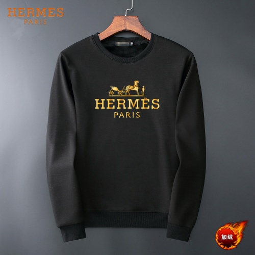 Hermes Hoodies Long Sleeved O-Neck For Men #819238