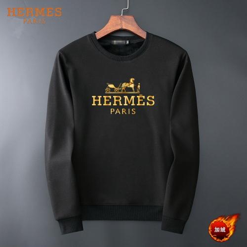 Hermes Hoodies Long Sleeved O-Neck For Men #819238