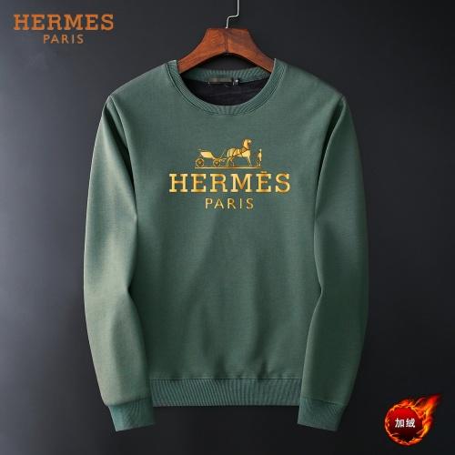 Hermes Hoodies Long Sleeved O-Neck For Men #819239