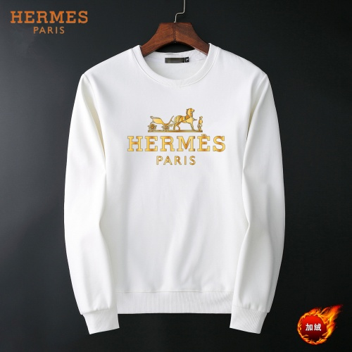 Hermes Hoodies Long Sleeved O-Neck For Men #819240
