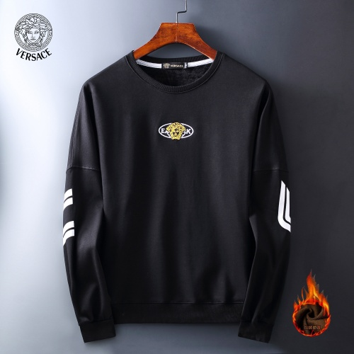 Versace Hoodies Long Sleeved O-Neck For Men #819252