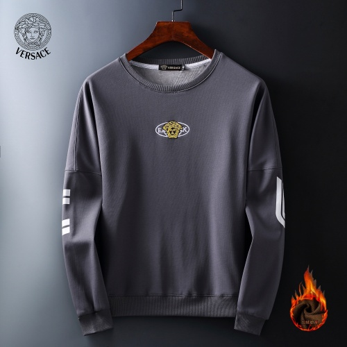Versace Hoodies Long Sleeved O-Neck For Men #819254