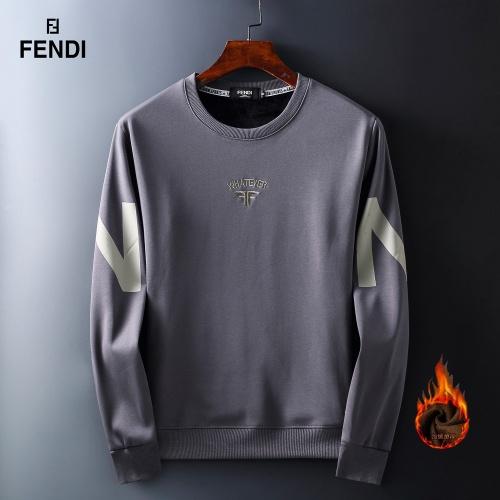 Fendi Hoodies Long Sleeved O-Neck For Men #819255
