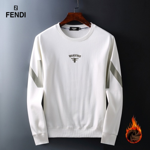Fendi Hoodies Long Sleeved O-Neck For Men #819256