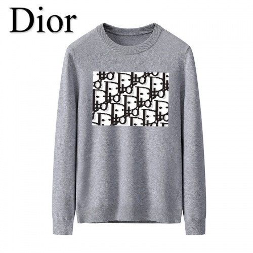 Christian Dior Sweaters Long Sleeved O-Neck For Men #819280