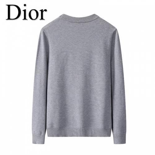 Replica Christian Dior Sweaters Long Sleeved O-Neck For Men #819280 $42.00 USD for Wholesale