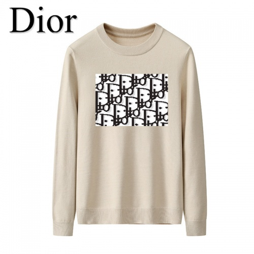 Christian Dior Sweaters Long Sleeved O-Neck For Men #819281