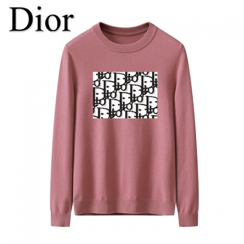 Christian Dior Sweaters Long Sleeved O-Neck For Men #819282