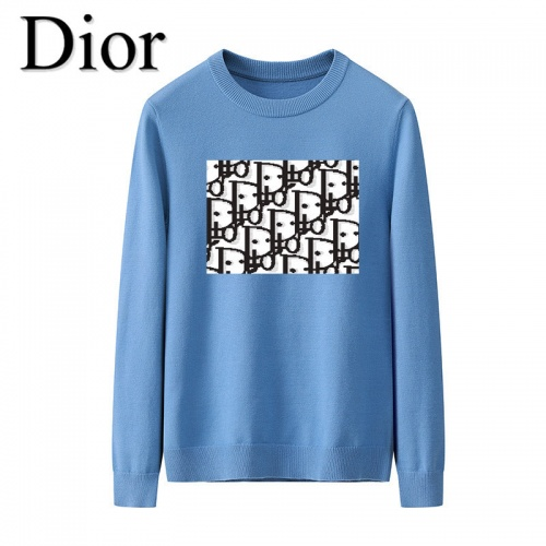 Christian Dior Sweaters Long Sleeved O-Neck For Men #819283