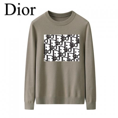 Christian Dior Sweaters Long Sleeved O-Neck For Men #819284