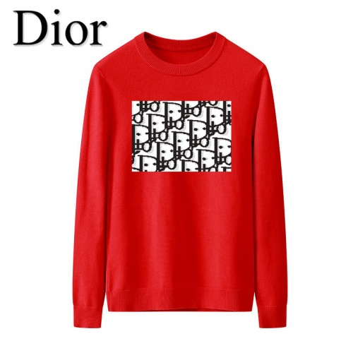 Christian Dior Sweaters Long Sleeved O-Neck For Men #819285