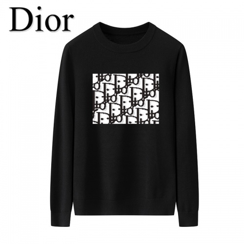 Christian Dior Sweaters Long Sleeved O-Neck For Men #819286