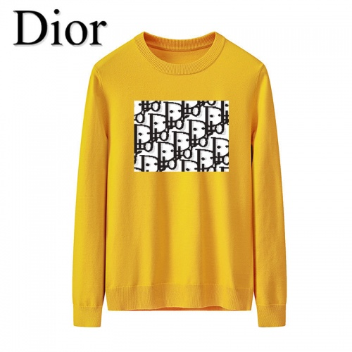 Christian Dior Sweaters Long Sleeved O-Neck For Men #819287