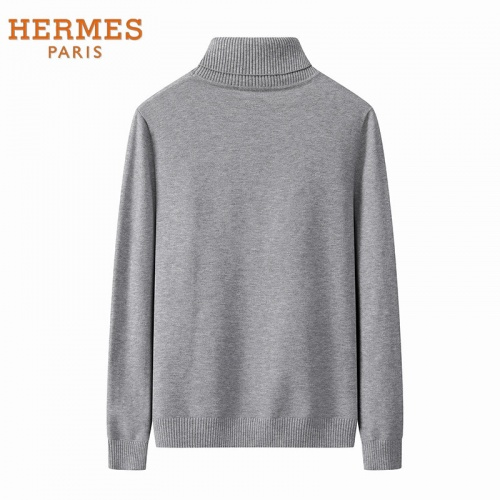 Replica Hermes Sweaters Long Sleeved For Men #819297 $42.00 USD for Wholesale
