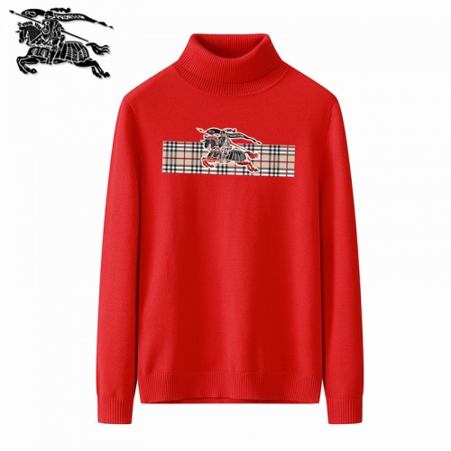 Burberry Sweaters Long Sleeved Polo For Men #819344