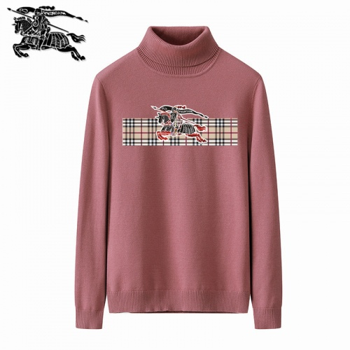 Burberry Sweaters Long Sleeved Polo For Men #819346 $42.00, Wholesale Replica Burberry Sweaters