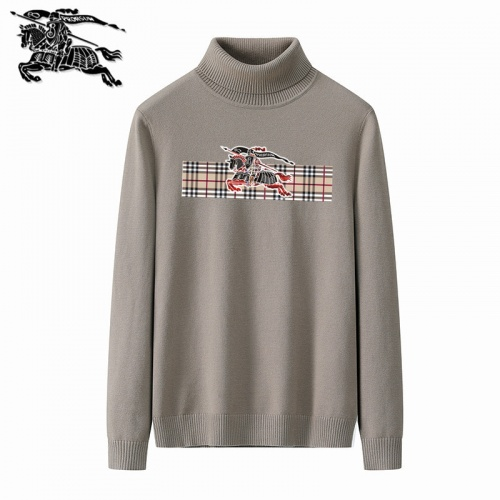 Burberry Sweaters Long Sleeved Polo For Men #819347