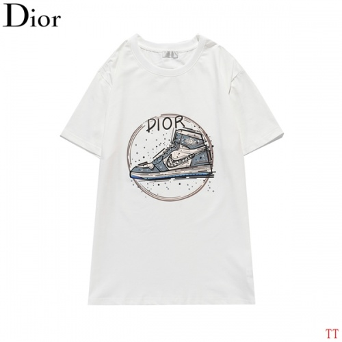 Christian Dior T-Shirts Short Sleeved O-Neck For Men #819362 $27.00 USD, Wholesale Replica Christian Dior T-Shirts