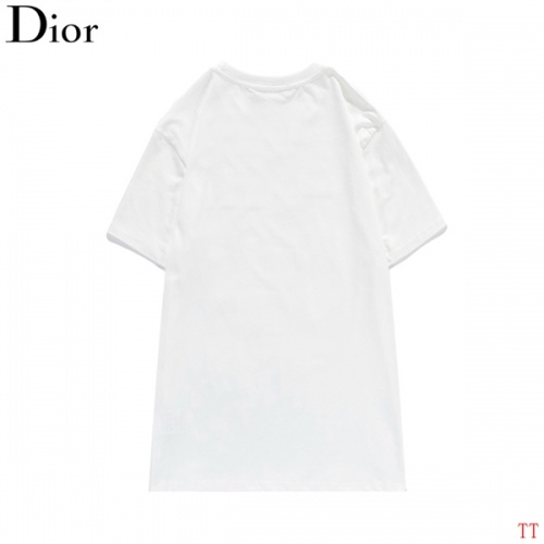 Replica Christian Dior T-Shirts Short Sleeved O-Neck For Men #819362 $27.00 USD for Wholesale