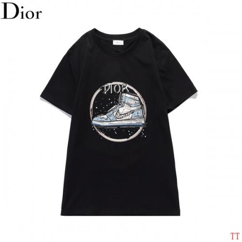 Christian Dior T-Shirts Short Sleeved O-Neck For Men #819363