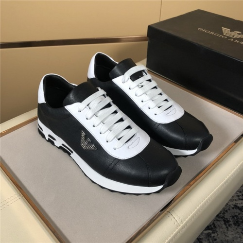 Armani Casual Shoes For Men #819364