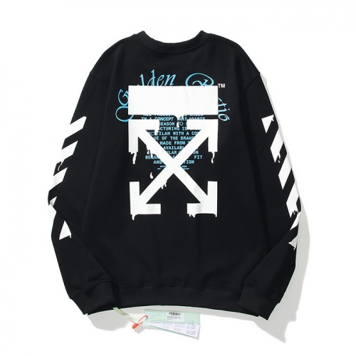 Off-White Hoodies Long Sleeved O-Neck For Men #819656 $45.00 USD, Wholesale Replica Off-White Hoodies