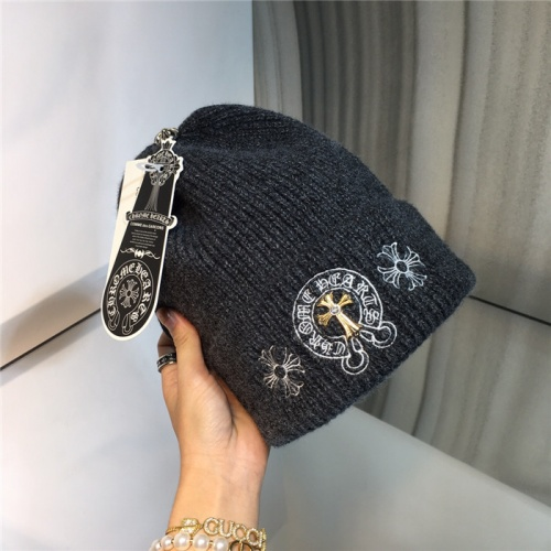 Replica Chrome Hearts Woolen Hats #819669 $32.00 USD for Wholesale