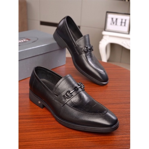 Prada Leather Shoes For Men #819758