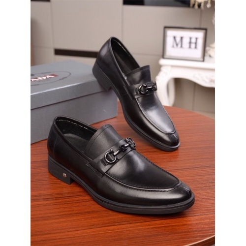 Prada Leather Shoes For Men #819759