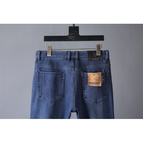 Replica Burberry Jeans Trousers For Men #819813 $42.00 USD for Wholesale