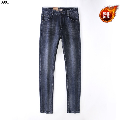 Burberry Jeans Trousers For Men #819814 $42.00 USD, Wholesale Replica Burberry Jeans
