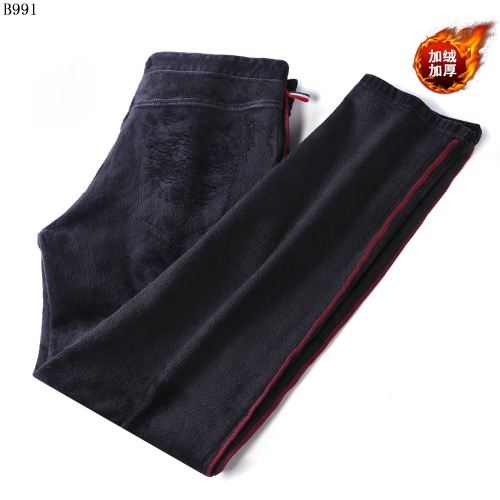 Replica Burberry Jeans Trousers For Men #819814 $42.00 USD for Wholesale