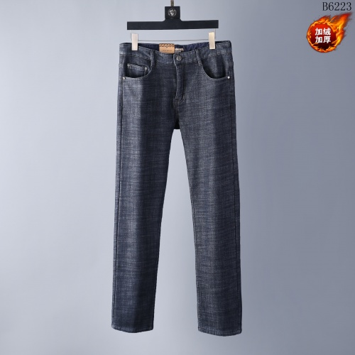 Burberry Jeans Trousers For Men #819815 $42.00 USD, Wholesale Replica Burberry Jeans