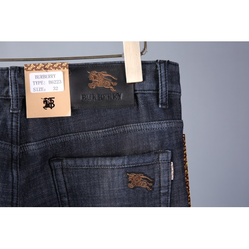 Replica Burberry Jeans Trousers For Men #819815 $42.00 USD for Wholesale