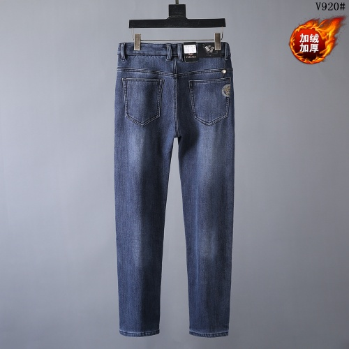 Replica Versace Jeans Trousers For Men #819816 $42.00 USD for Wholesale