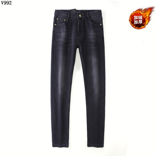 Replica Versace Jeans Trousers For Men #819817 $42.00 USD for Wholesale