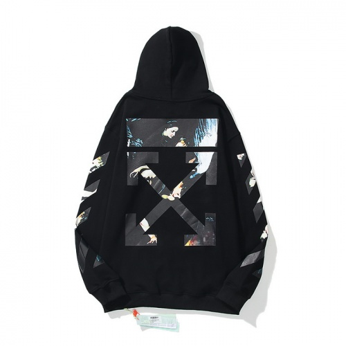 Off-White Hoodies Long Sleeved Zipper For Men #819824