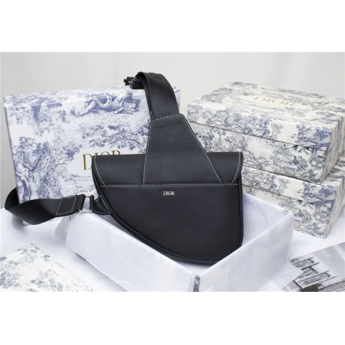 Replica Christian Dior AAA Man Messenger Bags #819946 $101.00 USD for Wholesale