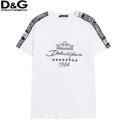 Dolce & Gabbana D&G T-Shirts Short Sleeved O-Neck For Men #819949