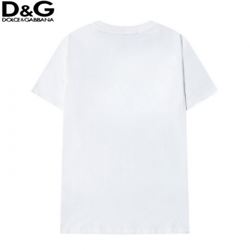 Replica Dolce & Gabbana D&G T-Shirts Short Sleeved O-Neck For Men #819949 $29.00 USD for Wholesale