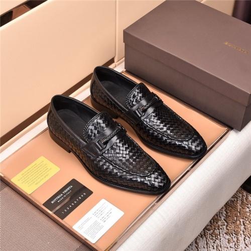 Bottega Veneta BV Leather Shoes For Men #820052