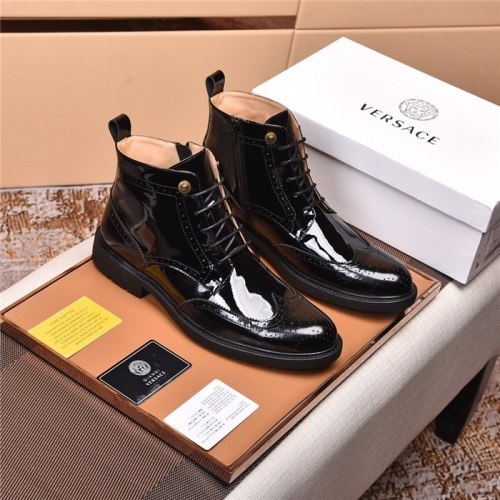 Versace Boots For Men #820058