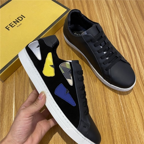 Replica Fendi Casual Shoes For Men #820068 $72.00 USD for Wholesale