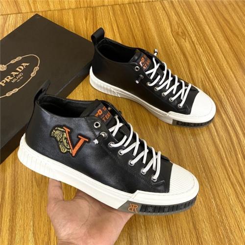 Prada High Tops Shoes For Men #820079