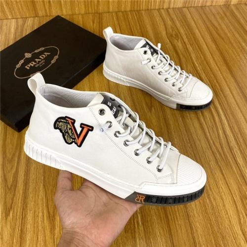 Prada High Tops Shoes For Men #820080