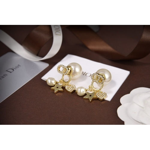 Christian Dior Earrings #820114 $34.00 USD, Wholesale Replica Christian Dior Earrings