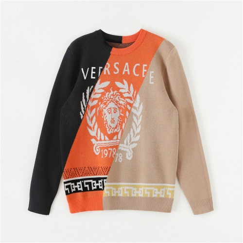Versace Sweaters Long Sleeved O-Neck For Unisex #820135