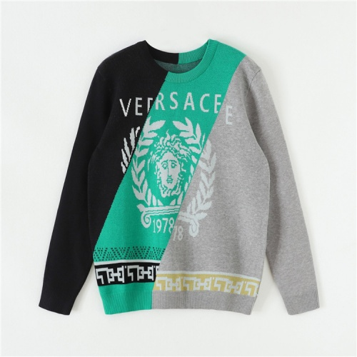 Versace Sweaters Long Sleeved O-Neck For Unisex #820136