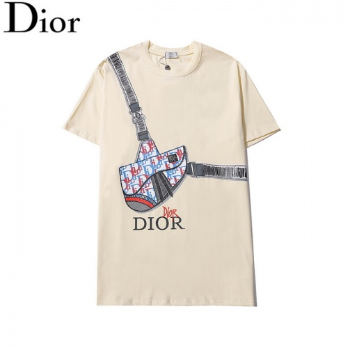 Christian Dior T-Shirts Short Sleeved O-Neck For Men #820142